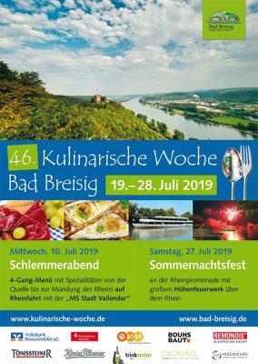 46. Kulinarische Woche @ Bad Breisig