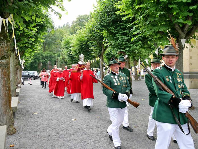 Die Wallfahrt zum Apollinarisberg, 20.07. – 04.08.2019