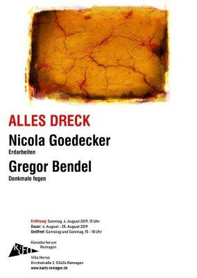 """Ausstellung """"ALLES DRECK"""" @ Künstlerforum Remagen"""