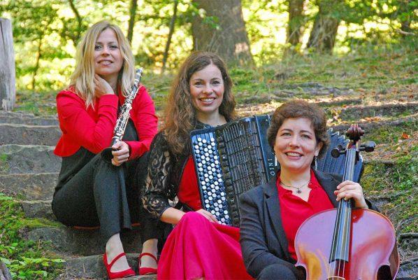 """Trio Con Abbandono mit """"Tango – Czardas – Klezmer"""" im Sinziger Schloss @ Schloss Sinzig"""