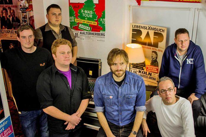 """Rockig wird es mit der Band die """"Fünf Jestalte"""" bei Lebendiger Marktplatz"""