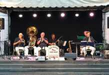 Chicago Jazz auf dem Marktplatz