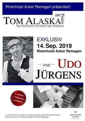 Tom Alaska singt Udo Jürgens @ Rheinhotel Anker