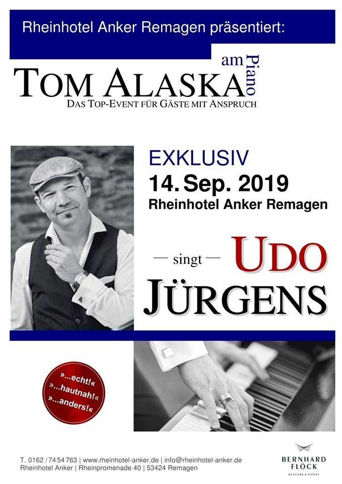 Tom Alaska singt Udo Jürgens