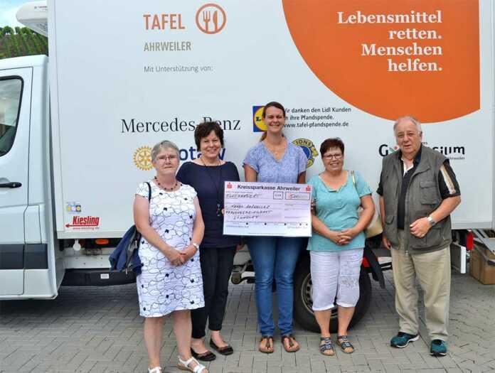 500 Euro spendet Frauengemeinschaft Löhndorf der Tafel Ahrweiler
