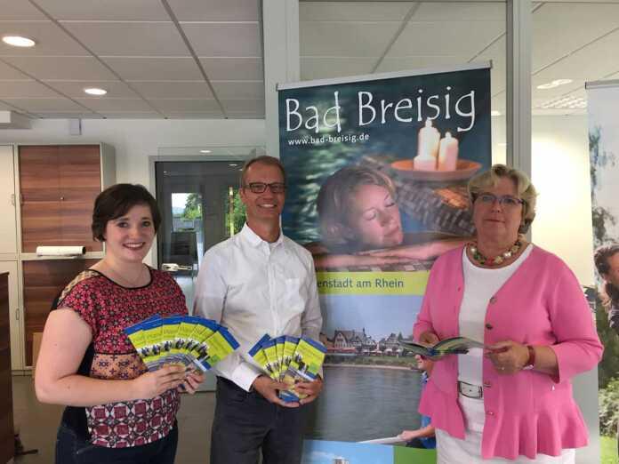 Tourist-Information Bad Breisig präsentiert neuen Flyer zu Wanderwegen im Breisiger Ländchen