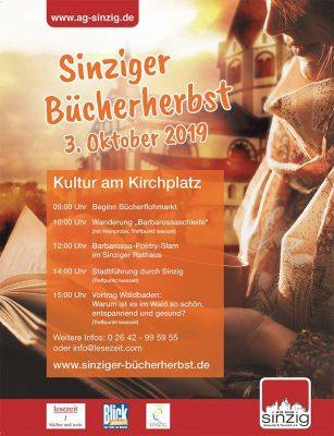 Sinziger Bücherherbst 2019 @ Kirchplatz Sinzig | Sinzig | Rheinland-Pfalz | Deutschland