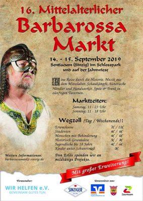 Neues auf dem mittelalterlichen Barbarossamarkt