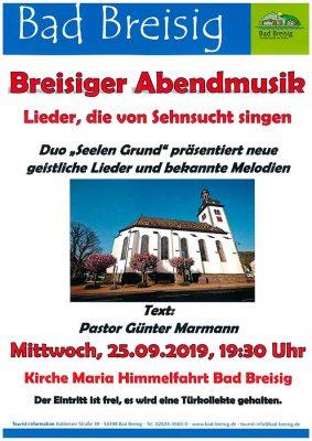 Musicalmelodien und Neue Geistliche Lieder @ Maria Himmelfahrt Bad Breisig   Bad Breisig   Rheinland-Pfalz   Deutschland