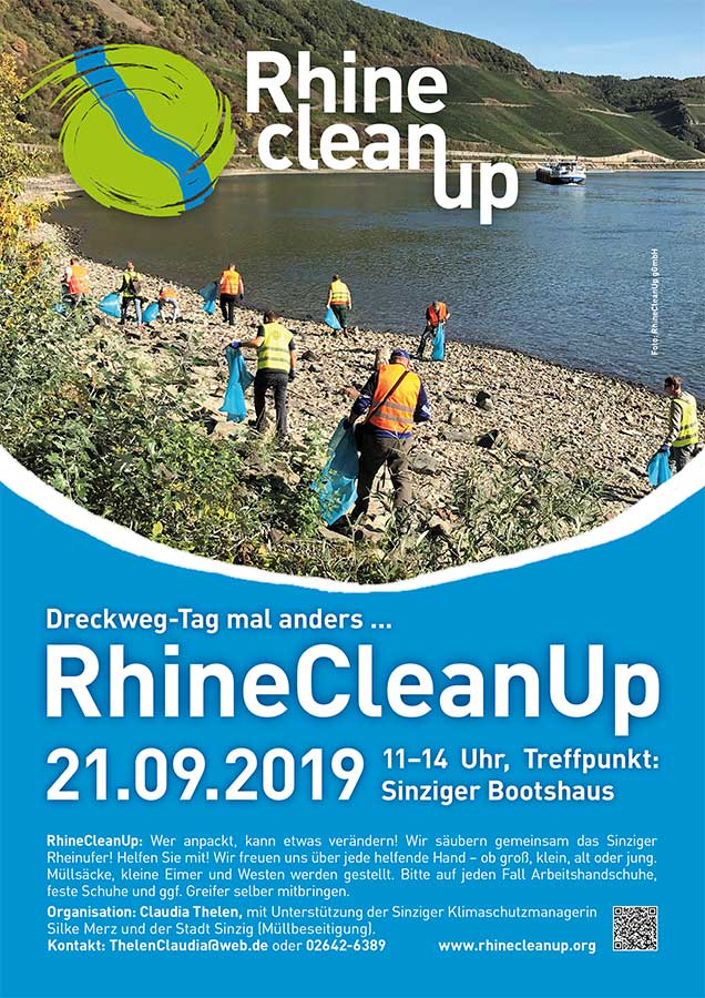 RhineCleanUp in Sinzig