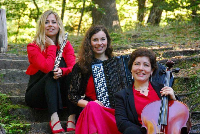 "Trio Con Abbandono mit ""Tango – Czardas – Klezmer"" im Sinziger Schloss"