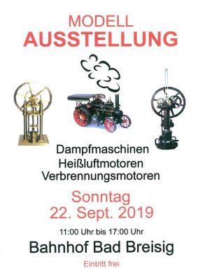 Modell-Dampfmaschinen in Funktion @ Jugend- & Kulturbahnhof | Bad Breisig | Rheinland-Pfalz | Deutschland
