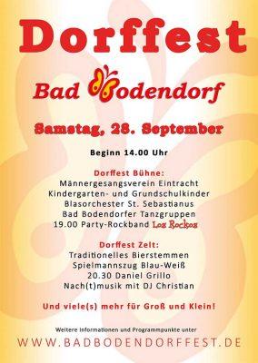 Dorffest in Bad Bodendorf @ Bad Bodendorf | Sinzig | Rheinland-Pfalz | Deutschland
