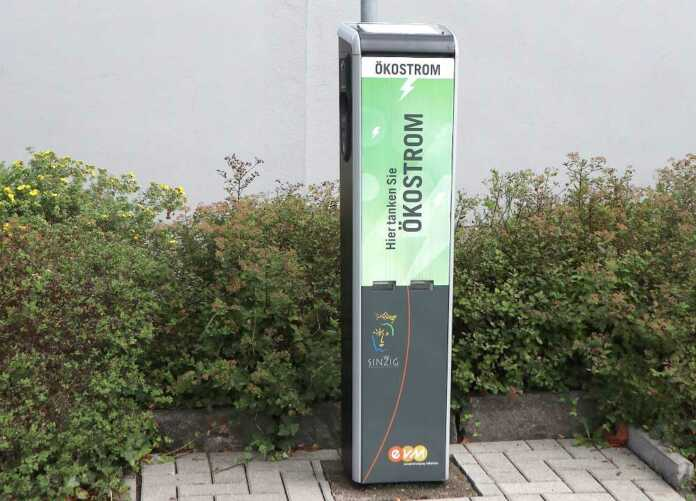 Stromtankstelle am Kirchplatz in Sinzig jetzt noch kundenfreundlicher