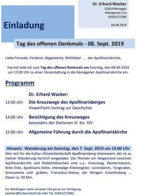 Tag des offenen Denkmals - Apollinariskirche @ Apollinariskirche | Remagen | Rheinland-Pfalz | Deutschland