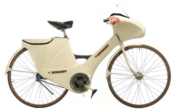 Colani entwarf Fahrrad für Schauff