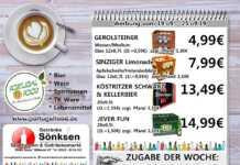 Angebote bei Getränke Sönksen KW 38/39