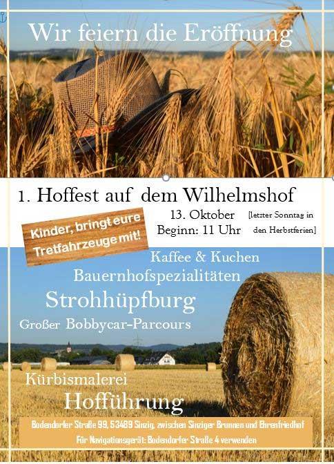Hoffest auf dem Wilhelmshof