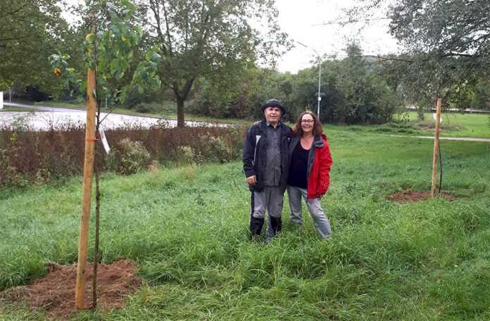 Bäume sind super! Bürgerforum Sinzig hat am 03.10.2019 eingebuddelt….