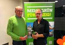 Dr. Lutz Kosack, Diplom-Geoökologe der Stadt Andernach hielt auf Einladung der Grünen Vortrag in Sinzig