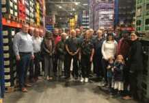 25 interessierte FBL Mitglieder trafen sich zu einer Betriebsbesichtigung bei der Firma Trinkkontor in Remagen
