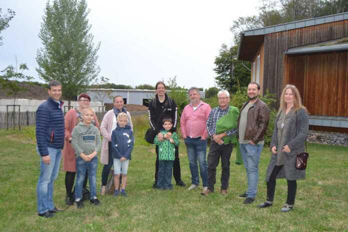 Grüne Kreistagsfraktion besucht Abfallwirtschaftszentrum