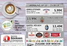 Angebote bei Getränke Sönksen KW 42/43