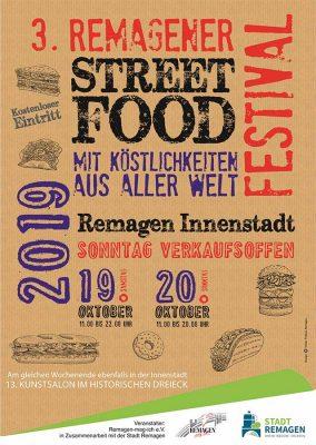 Street Food Festival und Kunstsalon @ Remagen | Remagen | Rheinland-Pfalz | Deutschland