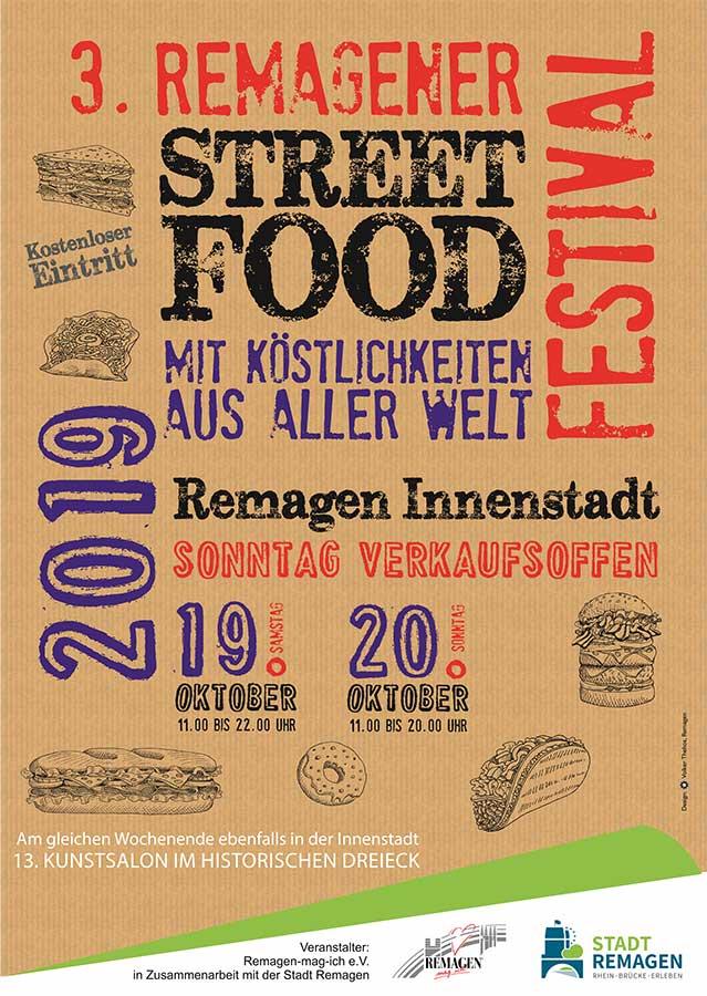 Streetfood-Festival in Remagen