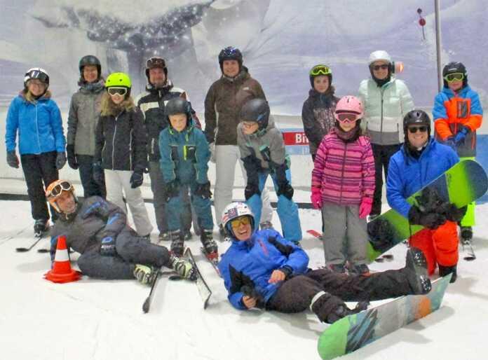 TV-Skijugend nutzt Herbstferien zum Skifahren