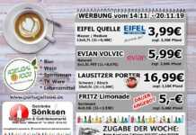 Angebote bei Getränke Sönksen KW 46/47