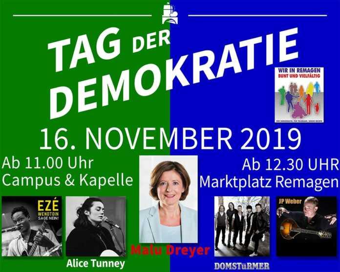 Tag der Demokratie 2019 in Remagen