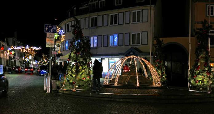 Weihnachtsbeleuchtung in Sinzig - der Film