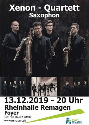 Xenon Quartett - Saxophon