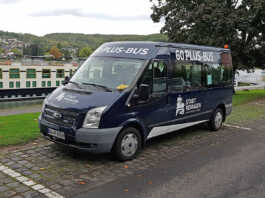 60-Plus-Bus - Seniorenfahrdienst ab sofort barrierefrei unterwegs
