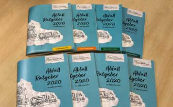 Abfall-Ratgeber 2020 kommt im neuen Design