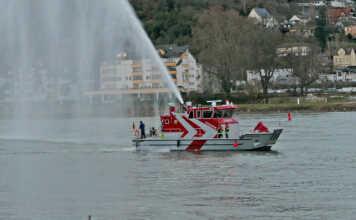Neues Feuerwehrboot für Kripp - der Film