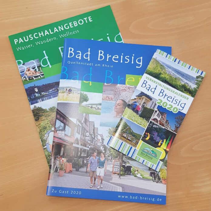 Tourist-Information Bad Breisig präsentiert touristische Prospekte 2020