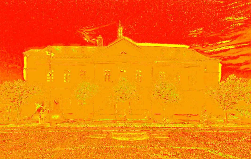 Thermografie-Spaziergang in Sinzig mit dem Klimaschutzmanagement