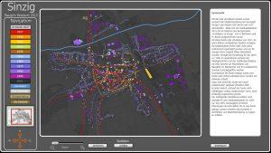 Interaktives Stadtmodell