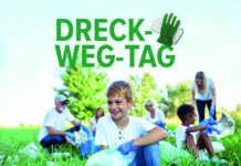 Kollektiver Frühjahrsputz im Kreis: Mithelfen beim Dreck-weg-Tag 2020