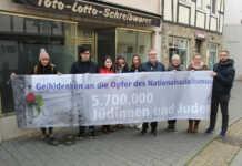 Ge(h)denken in Remagen mit der Grünen Jugend Ahrweiler