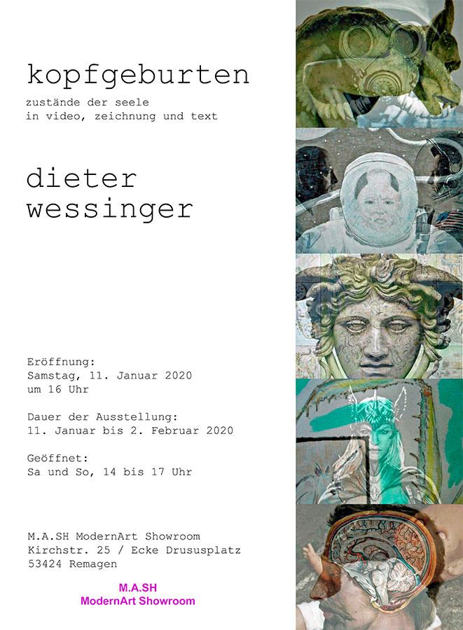 """Dieter Wessinger zeigt """"Kopfgeburten"""""""