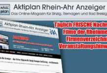 Über 36 000 Klicks auf Aktiplan Rhein-Ahr Anzeiger