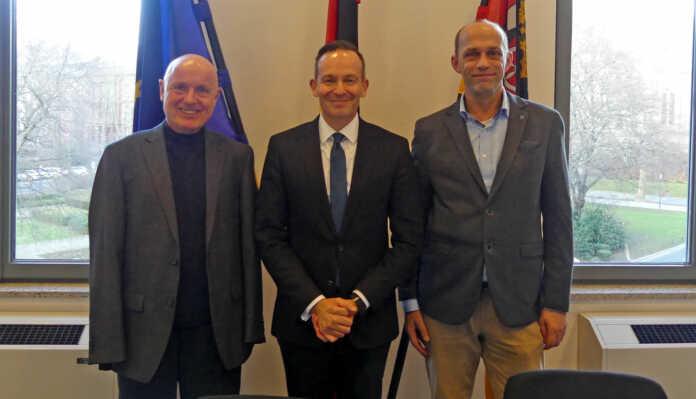FDP-Kreisvorsitzende Ahrweiler und Neuwied trafen in Mainz Dr. Volker Wissing