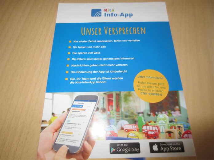 Kita Goethe-Knirpse informiert Eltern per App