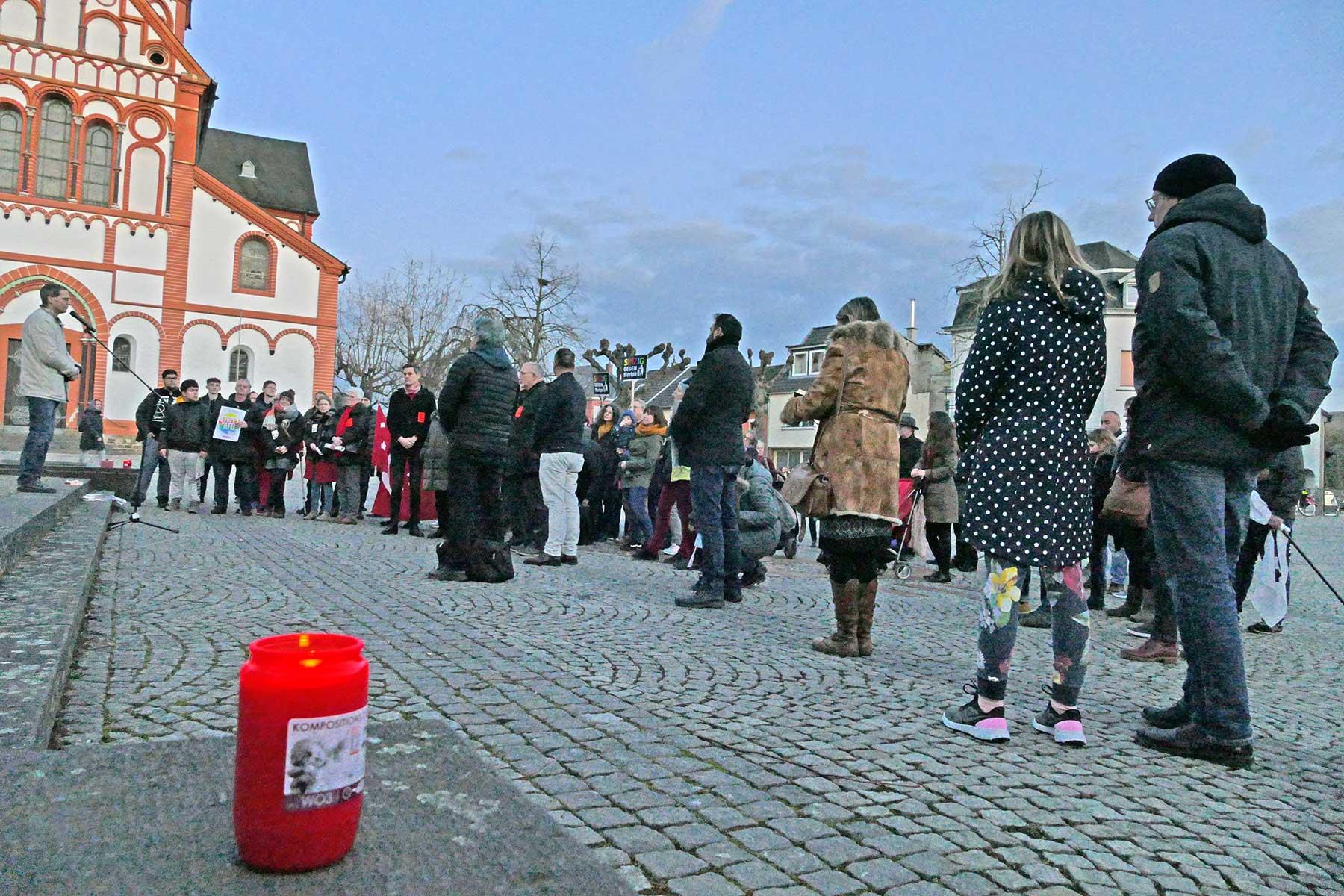 Hanau Mahnwache