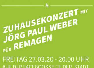 Onlinekonzert mit Jörg Paul Weber