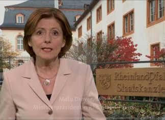 Anspache Ministerpräsidentin Malu Dreyer zum Coronavirus