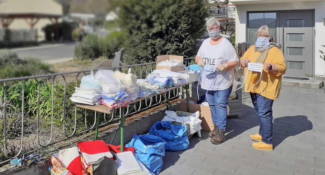 Hilfsprojekt für dringend benötigte Behelfsmundschutz-Masken